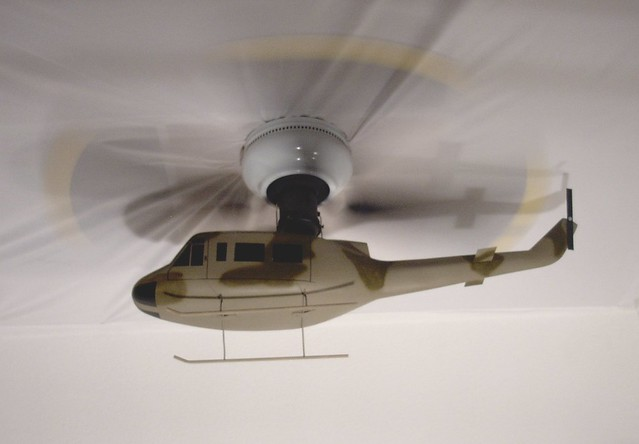 Camo Huey Helicopter Ceiling Fan | Flickr - Photo Sharing!