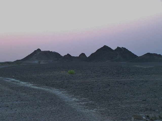 Koh-e-Murad, Turbat, Balochistan, Pakistan - March 2008