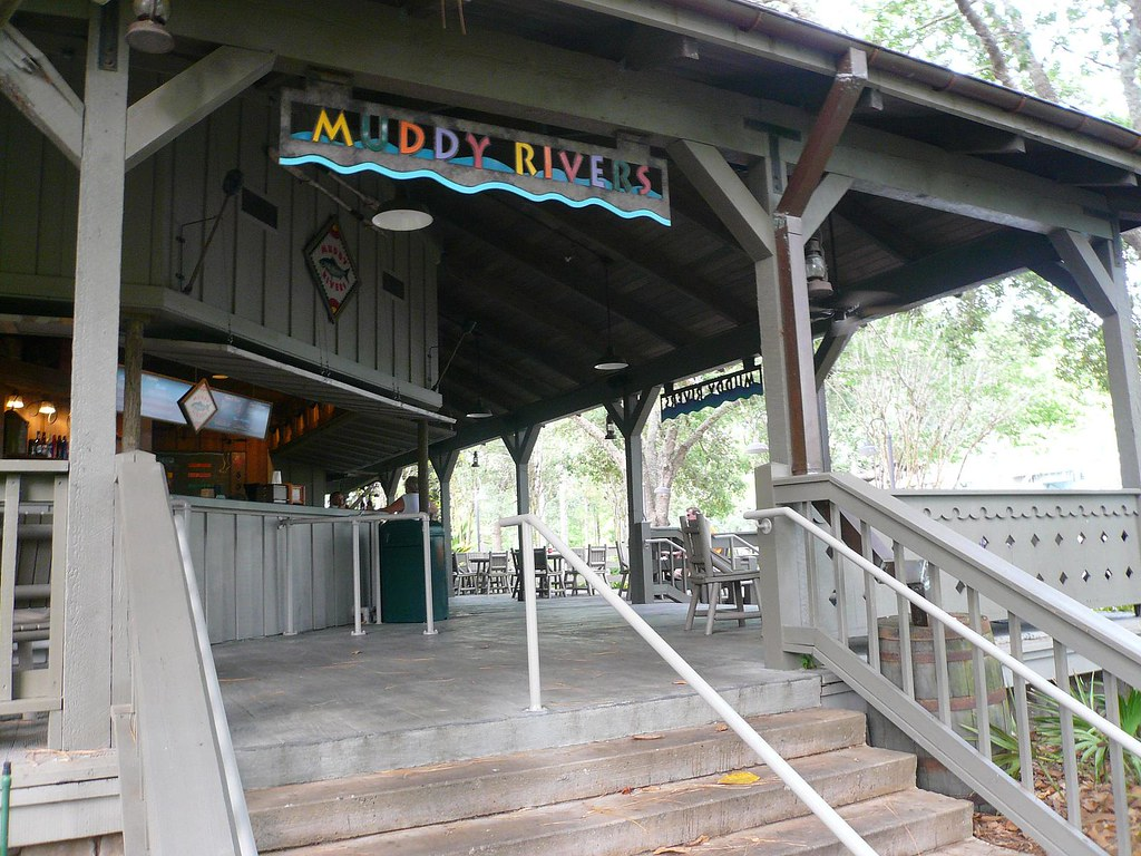Muddy Rivers Walt Disney World Port Orleans Hotel Riverside