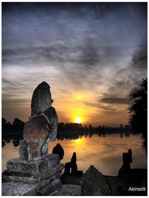 Srah Srang(皇家浴池) Sunrise
