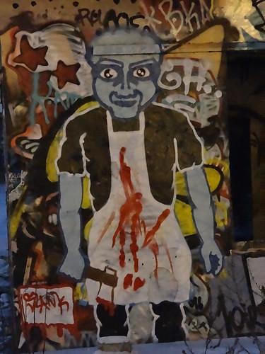 Auf jeden Fall muß er dann gehn wenn Gott ihn ruft loszulösen von der Graffiti 00502
