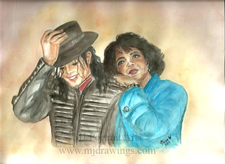 Michael Jackson and Oprah