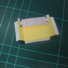 วิธีทำโมเดลกระดาษเป็นรูปบ้าน (Little House Papercraft Model) 001