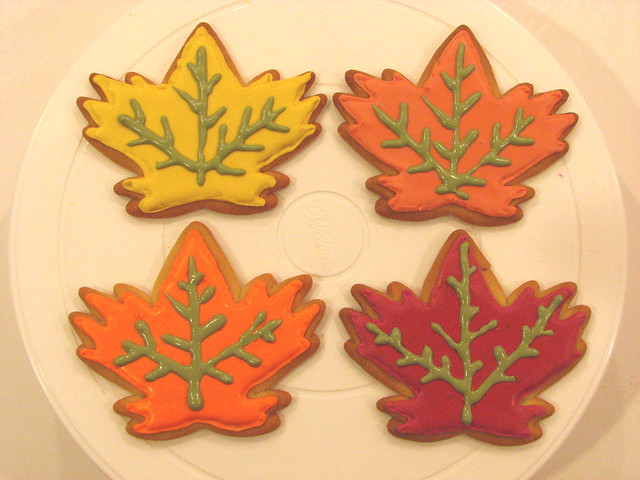 Maple Leaf Cookies | Flickr - Photo Sharing!