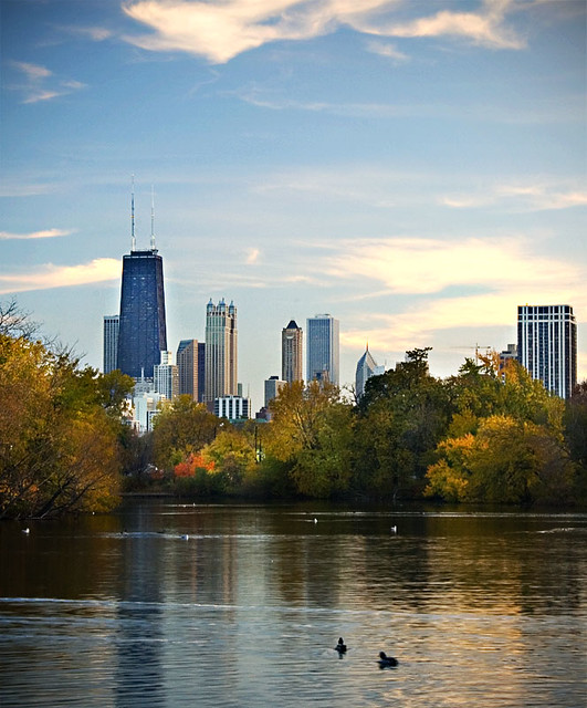 Fall in Chicago - Chris James on Flickr: https://www.flickr.com/photos/christopherdale/1856746089