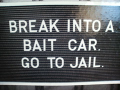 Is The Show Bait Car On Tru Tv Real Footage Or Is It Reeanactments - Bait car show