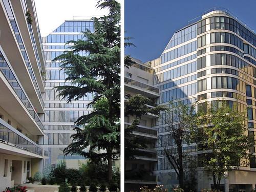 L'immeuble de bureaux