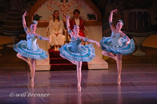 Ballet & Dance Portraits in Columbus, Ohio Nutcracker Suite - Marzipan Trio - Ballet Dancers by WB - CMH