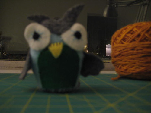 Owl from Sewing Stars Small Toys to Sew, Vol. 2