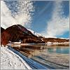 Winter lake by Katarina 2353