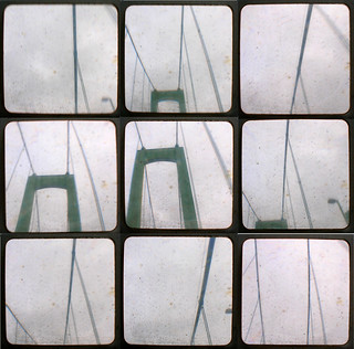 Suspension bridge, nine views