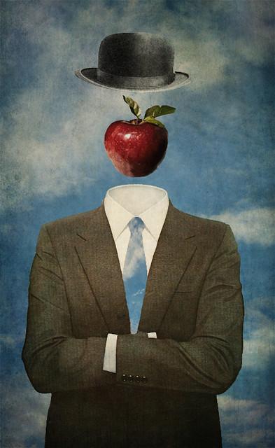 L'uomo invisibile (omaggio a Renè Magritte)