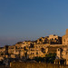 Faced to the sunset light, Matera