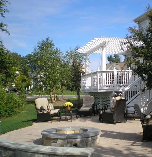 Beautiful Backyard Patio M M Professional Landscaping