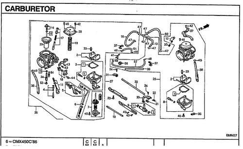carburetor H01690036