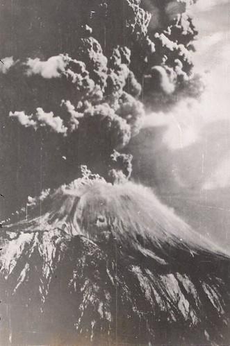 Mt. Vesuvius Erupting