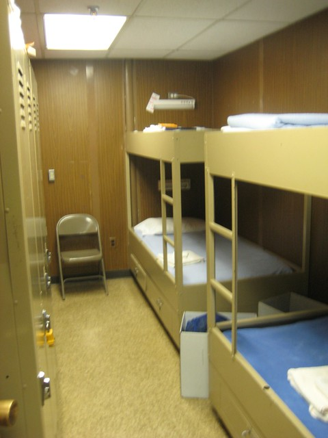 Typical Dorm Room: A Typical Dorm Room On An Oil Rig