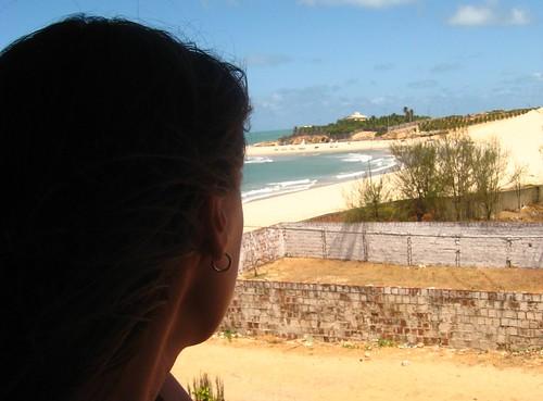 sea sky selfportrait beach me sand view autoportrait faith ceara spinks views25 365daysreject iquape