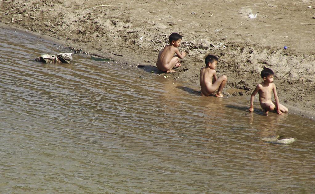 Naked children
