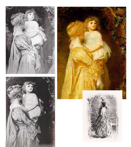 The Nest and photos of work in progress by Millais
