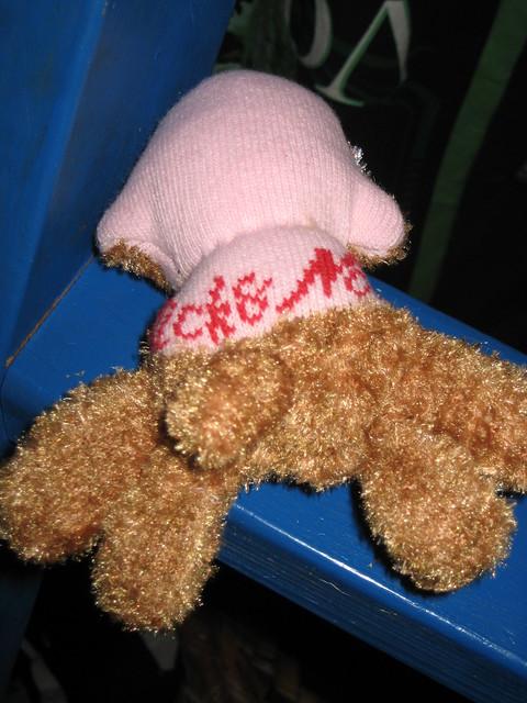 Baby Sock Monkey made by Nana!