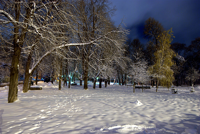 Night Kiev, Ukraine