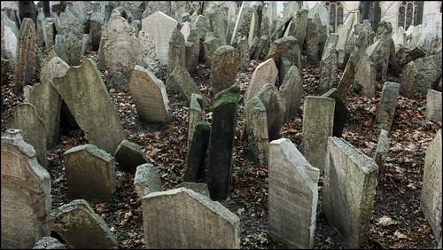 Tumbas del cementerio judío