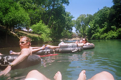 Tubing Down The Comal