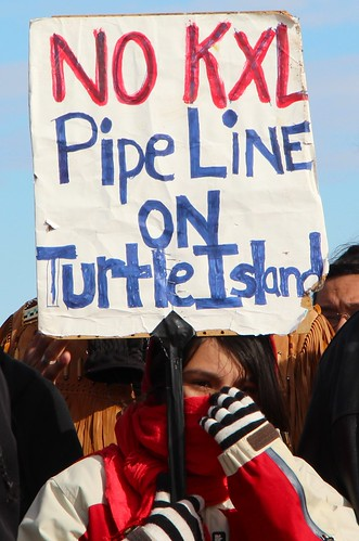 No KXL Pipeline on Turtle Island