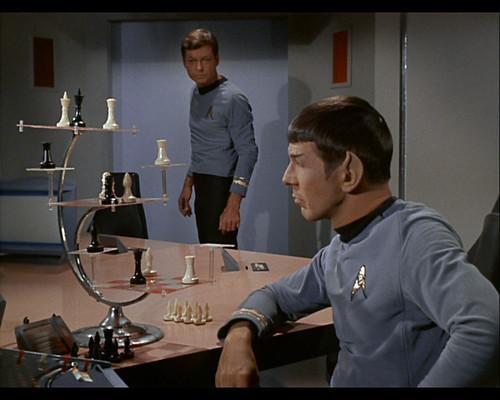Star Trek The Original Series 3d Chess Set Carolus Chess