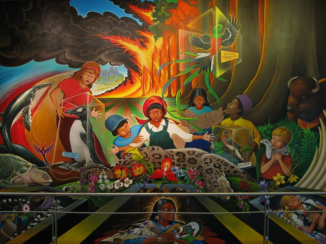 Denver airport murals flickr photo sharing for Denver mural airport