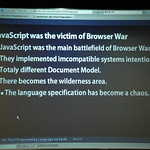 JavaScript, the Final Programming Language on Earth