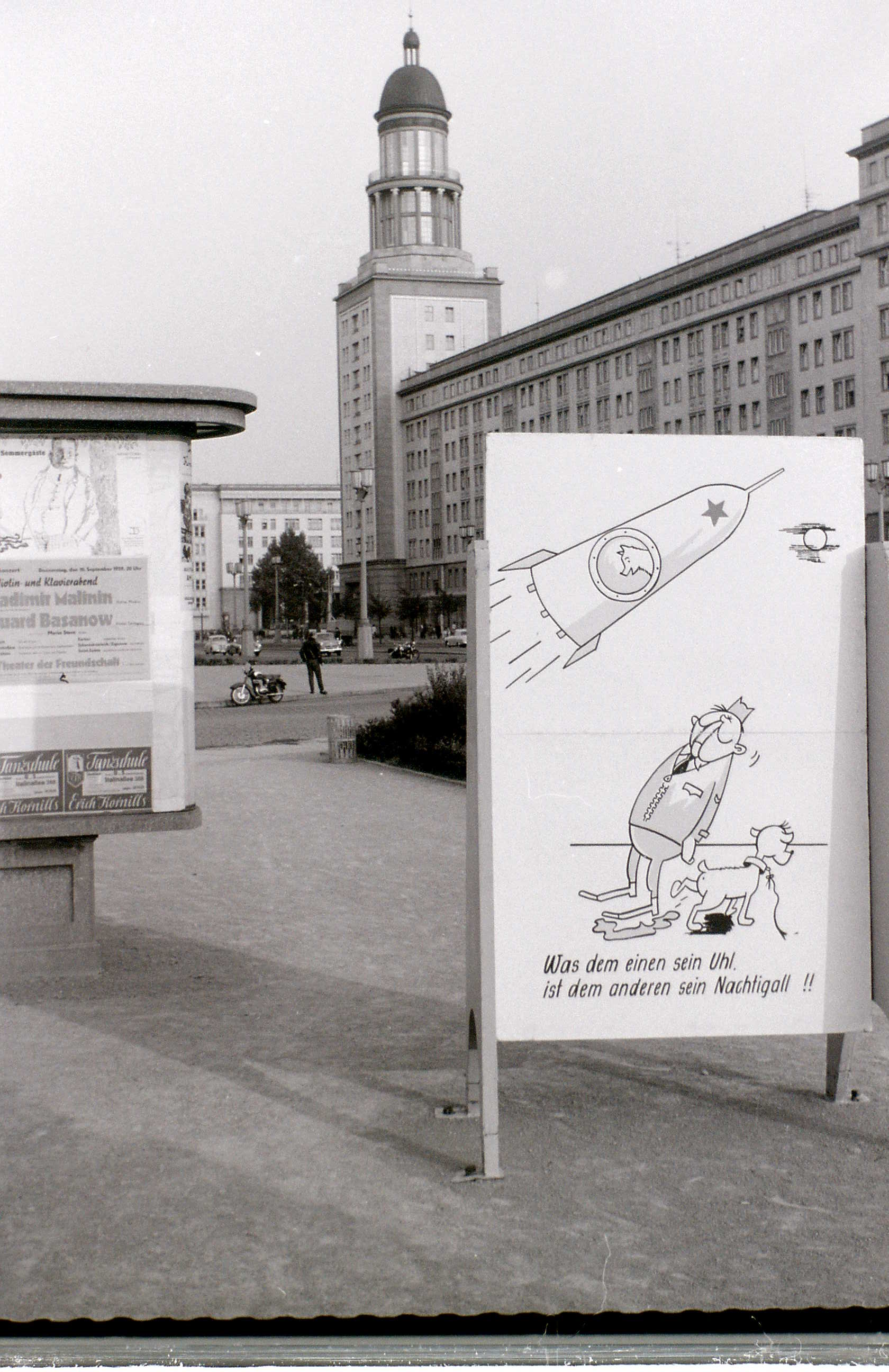 Stalinallee, East Berlin, 8 September 1959