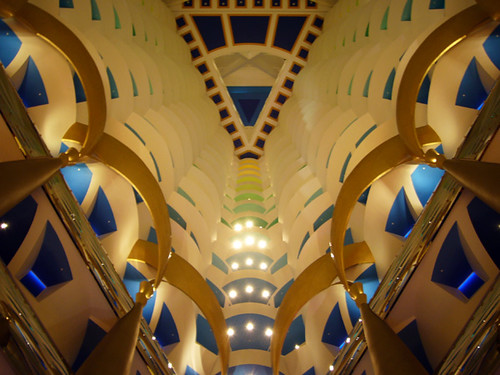 Burj al Arab: The landmark atrium