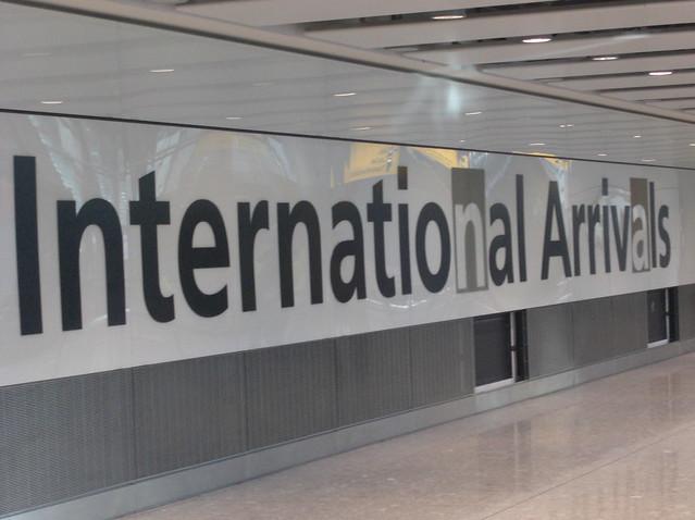 Heathrow Terminal 5 - Arrivals