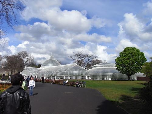 Botanic gardens of Glasgow