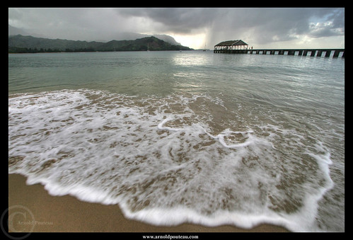 Rain on Hanalei Bay