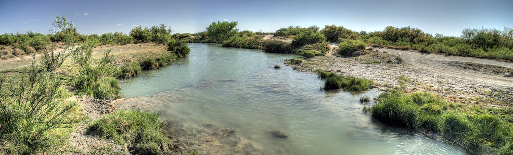 Carlsbad New Mexico - Black River upstream of Crossing