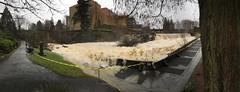 Tumwater falls #flood #water #river #olywa