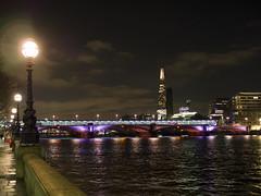 Blackfriars Bridge by night