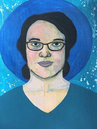 6b Self-Portrait - Middle