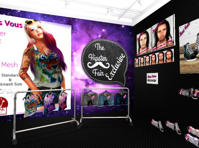 Hipster Fair-Designer Exclusive & Gacha - SecondLifeHub.com