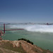 Creeping fog, GGB, Marin Headlands