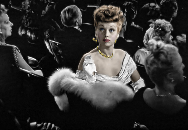 Movie Star Lucille Ball is Alluring in