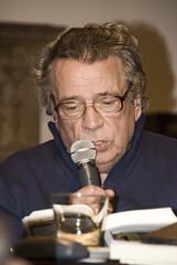 Roberto Raschella en el Museo Larreta