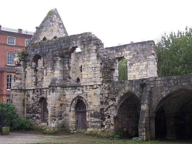 St Leonards Hospital Ruins, York