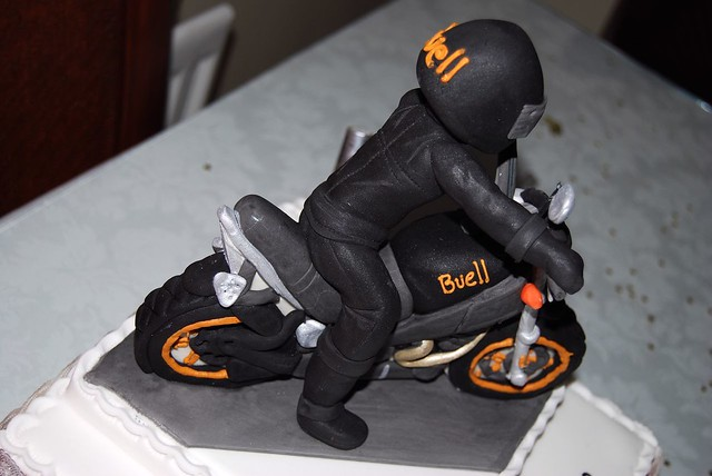 Buell Birthday Cake