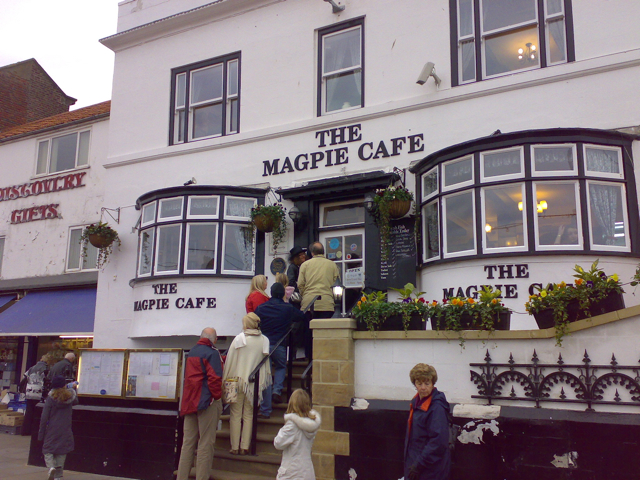 Magpie Cafe Whitby Dog Friendly