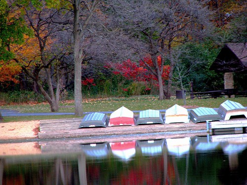 Boats at Herrick Lake