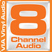 VIA Vinyl Audio 8 Channel logo